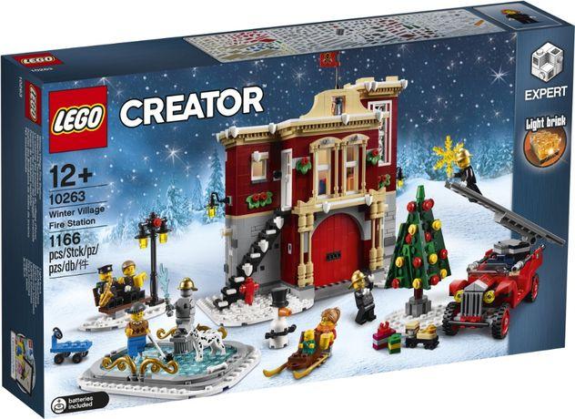 Lego Creator Expert 10263, original, Winter Village Fire Station