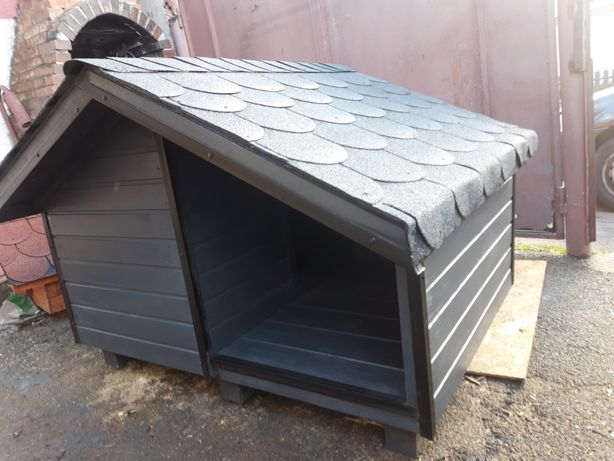 Cusca caine izolata termic cu veranda