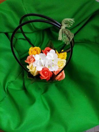 Aranjamente florale - flori de săpun