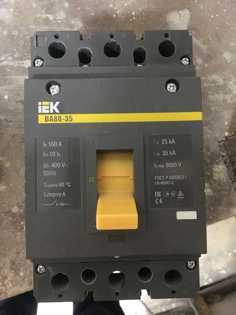 Продам!Выключатель автоматический IEK трехполюсной,160А.ВА88-35.