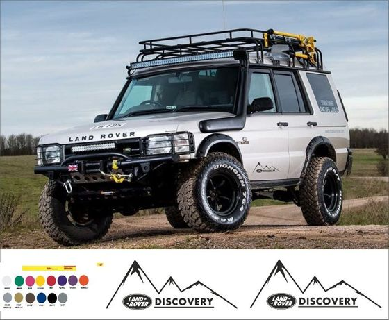 Land rover discovery стикер