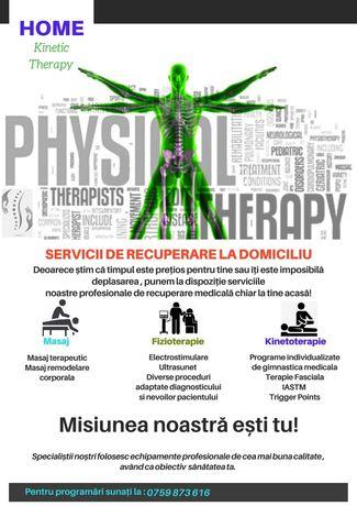 Kinetoterapie/Fizioterapie la Domiciliu