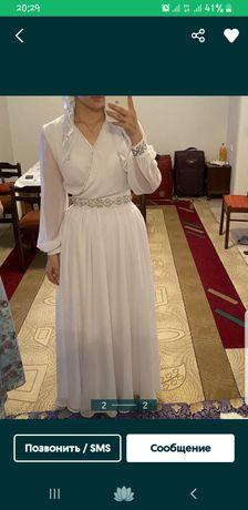 Пролам платье на узату, сырга салу, очень красивое в пол длиной