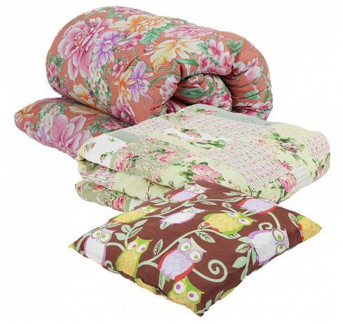 Рабочий комплект - матрас ватный, подушка, одеяло