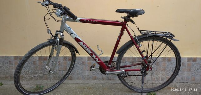 vand bicicleta touring , v-brake , front suspension , 28""