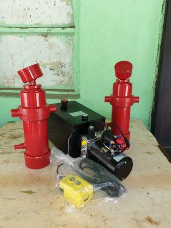 Pompa basculare cu cilindru basculare kit Iveco ,Ford , remorca