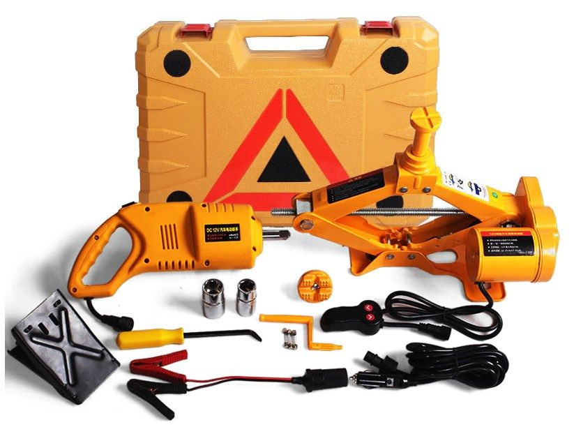 Авто-помощник (электро домкрат + электро гайковёрт) Караганда - изображение 1