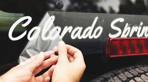 Stickere la comanda/Inscriptionari auto