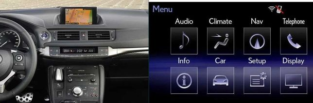 Card navigatie Lexus CT200h IS ES LS GS RC RX350 Europa 2020-2021