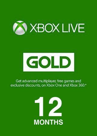 Xbox live12 luni