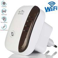 Удължител на сигнала WiFi Repeater 300Mbps репитер рутер повторител