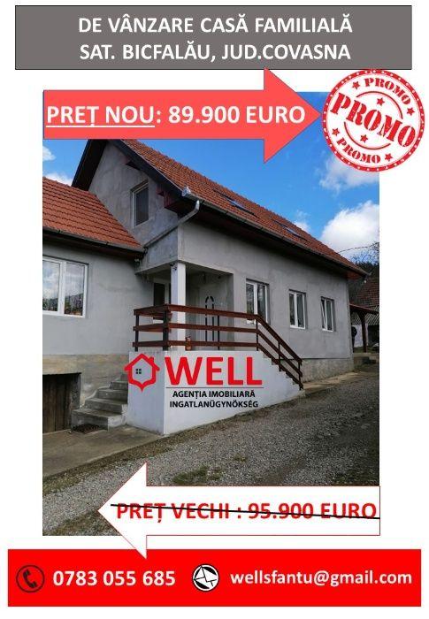 De vânzare casă individuală, Bicfalău