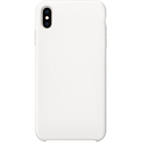 Husa Silicon iPhone XS Max, microfibra interior