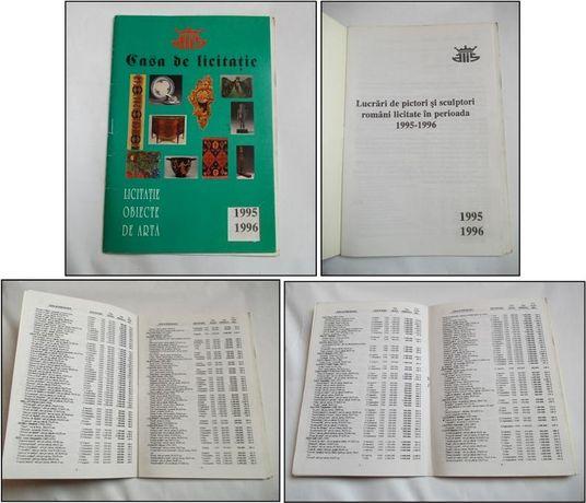 Picturi si sculpturi licitate la ALIS in 1995-1996 (catalog preturi)
