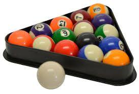set seturi bile de biliard 57,2mm - standard pool, accesorii biliard