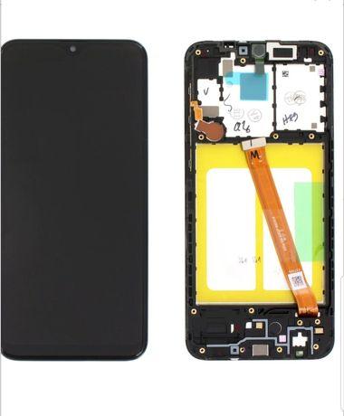 Display A20  A202 Samsung Original complet cu rama