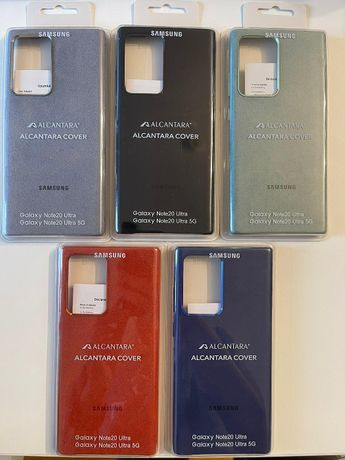 Husa Note 20 Ultra Alcantara Originala Husa Samsung Note 20 Ultra