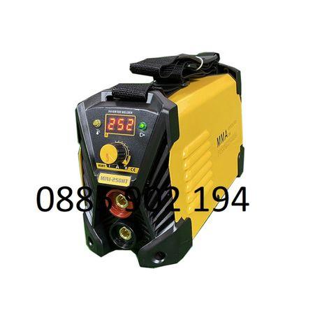 ПРОМОЦИЯ 2021 250А 2,5 кг Мини Електрожен инверторен IGBT с дисплей