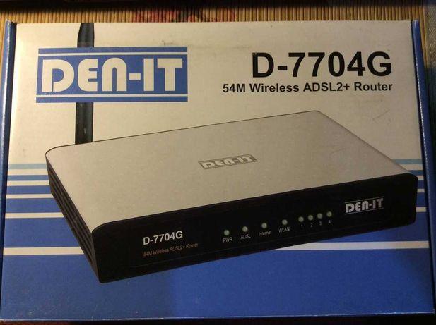 Модем DEN-IT D-7704G (WI-FI+Router)