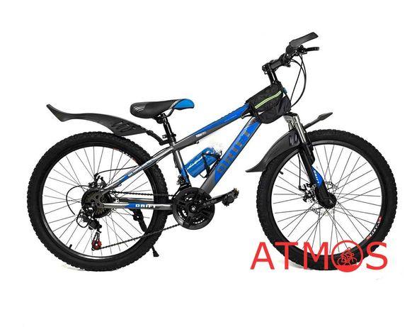 Подростковый велосипед Drift 24 | Год гарантии | Цвет: синий