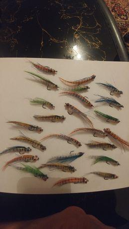 Стримери за пъстърва, распер , бяла риба и костур на куки от #8 до 1/0