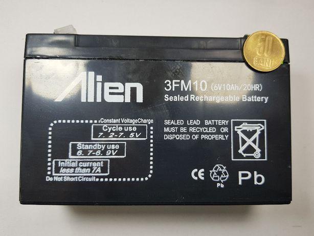 Acumulator 6V 10Ah pentru masinute electrice jucarii acumulatori