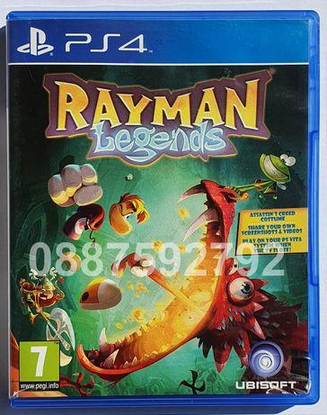 Перфектен диск с играта Rayman Legends PS4 Playstation 4 Плейстейшън