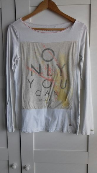 Дамска блуза ESPRIT с дълъг ръкав размер М