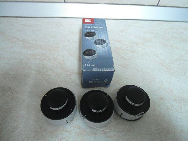 Set cu 3 bucati mosor/ bobina pentru coasa/trimmer Einhell BG-ET 2522