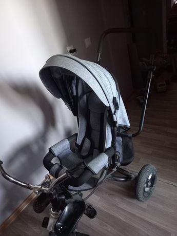 Детская велосипед коляска 2 в 1