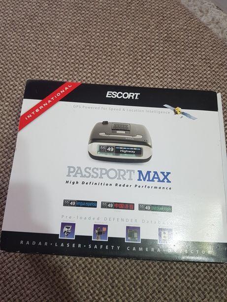 Detector Radar Escort Passport Max International