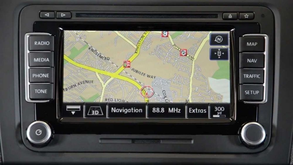 Harti DVD sau Card SD, Video in Motion, Firmware pentru RNS 510 Bucuresti - imagine 1