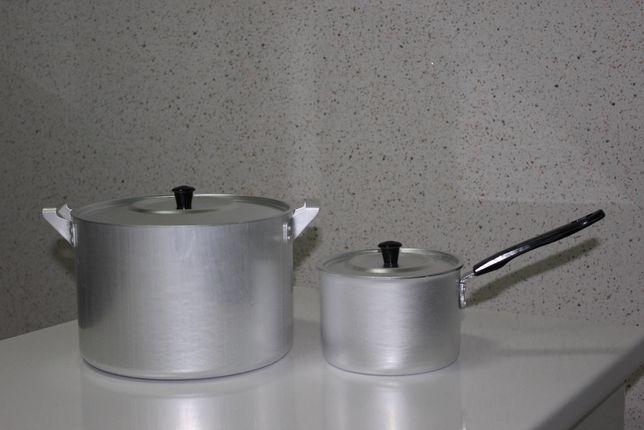 Алюминиевые кастрюли, пр-во Россия, от 1,5 л до 20 л