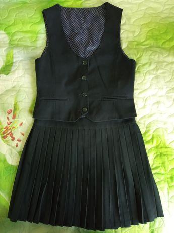 Школьная форма Glasman на 8-10лет, школьные юбки