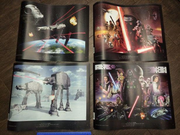 Звёздные войны Star Wars принты плакаты новые
