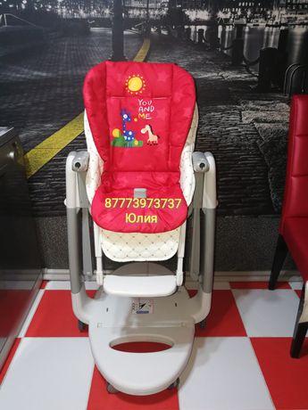 Чехол на детский стульчик для кормления в Алматы! Чехлы на стульчик!