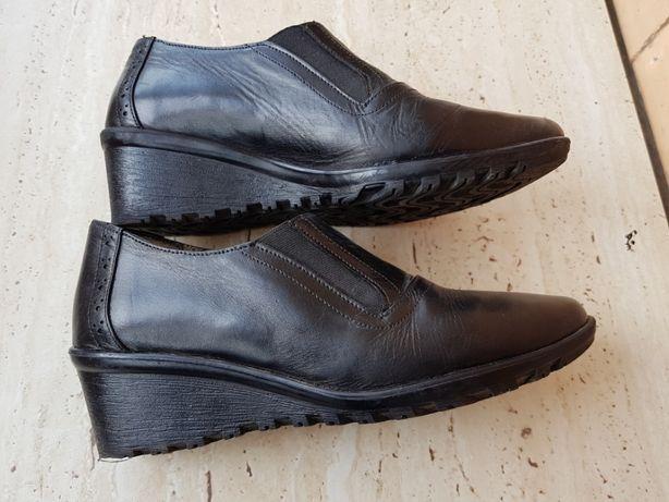 vand pantofi dama din piele naturala