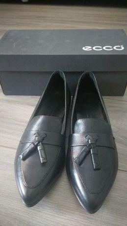 Pantofi dama Ecco din piele negri