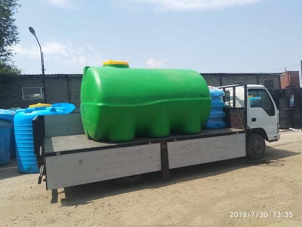 Емкости,баки для воды, диз топлива, 50л до 10000л.Доставка по РК.