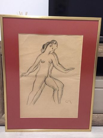 Pictura Tablou Corneliu Medrea ,,Nud dublat''