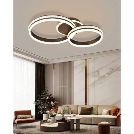Lustra LED 160W cu telecomanda, intensitate reglabila, Oana
