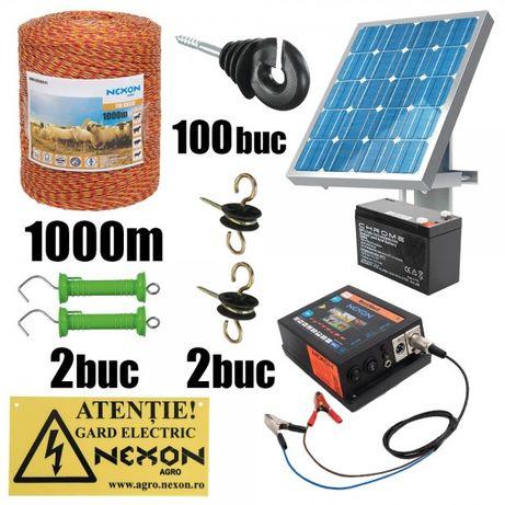 REDUCERE! Kit gard electric NEXON HeavyShock 2.5 J 12V , 1000m 6lite