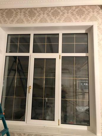 Пластиковые окна двери витражи