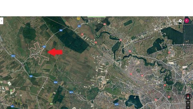 Teren (668 mp) pentru investitie sau casa in Nord-Vestul Bucurestiului