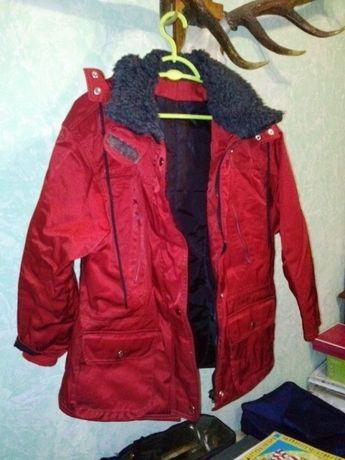Куртка рабочая утеплённая, водоотталкивающая ткань, размер 48-50