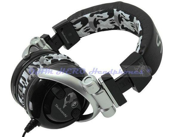 Skullcandy DJ stereo Headphone - професионални слушалки