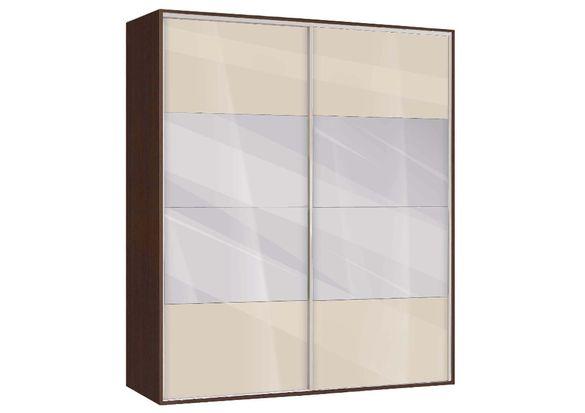 Гардероб Ава 51 с плъзгащи врати и огледала