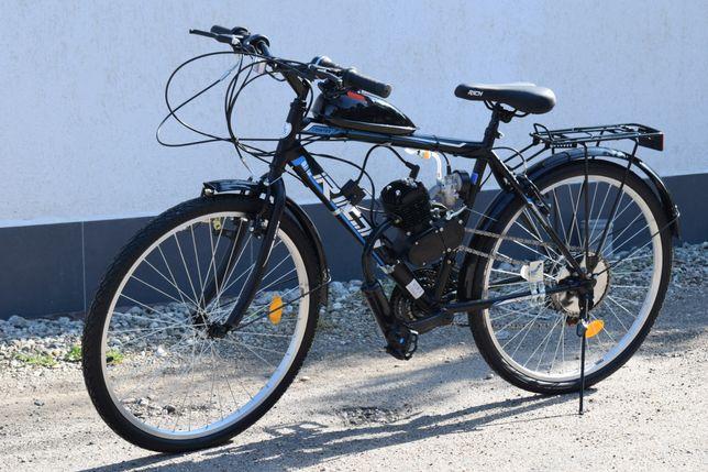 Bicicletă NOUĂ cu motor în 2Timpi pe benzină!