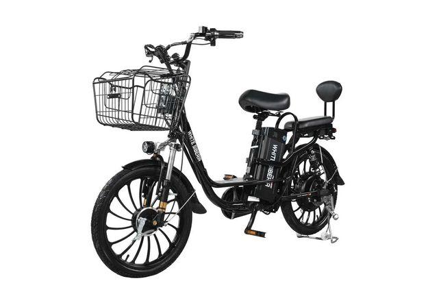 Электровелосипед WHITE SIBERIA CAMRY 1500W, 24км/ч, до 100 км пробег