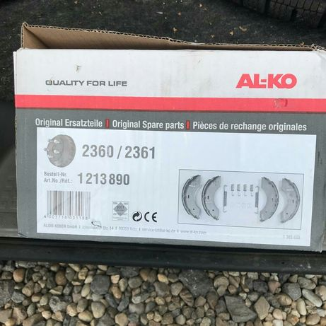 Saboți frână AL-KO 2360 / 2361 remorci  platforme rulote